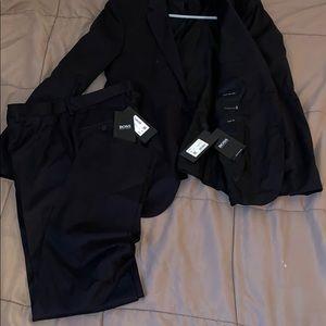 Men's Hugo Boss Black Suit